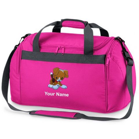 Personalised BEAGLE DOG Bag Mini Holdall